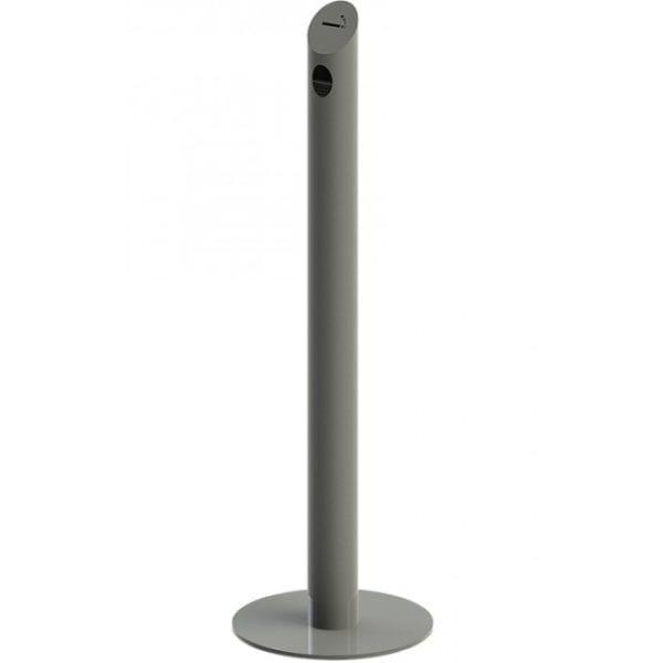 Cigarette Bin Pole- stolpe askebæger grå