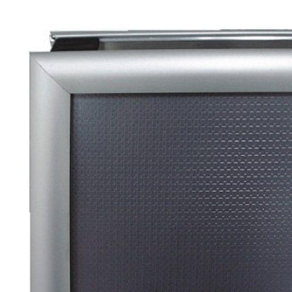 A-skilt Alu Line Budget A1 60x85cm-sølv
