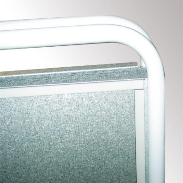 Mæglerskilt Expo Sign med magnetfront A3 - 30x42cm hvid
