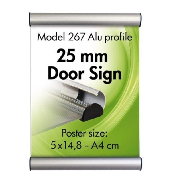 Dørskilt, vægskilt A4 21x29,7cm