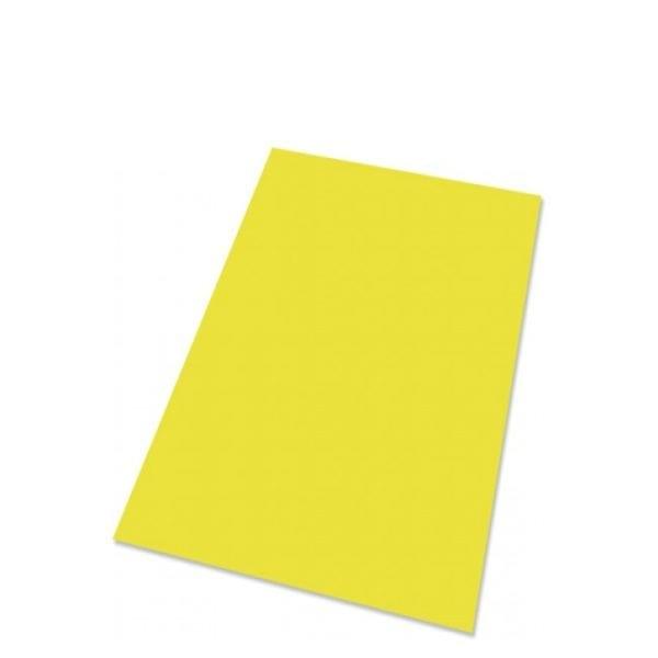 Plakatpapir 90gr. 50x70 cm gul/neon