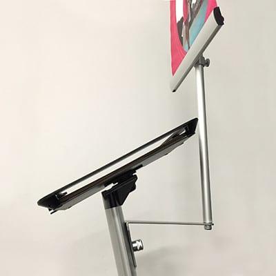 Ipad bannerholder A3