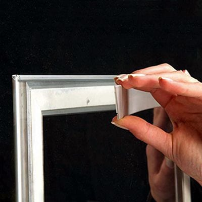 Double Sided Window Frame 25 mm (G) A4 alu