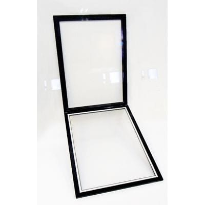 Double Sided Window Frame 25 mm A4 plast sort