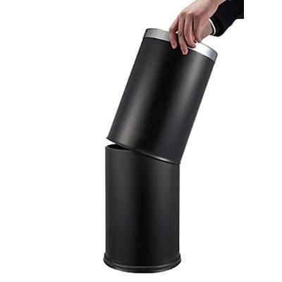 Papirkurv 12 liter - sort