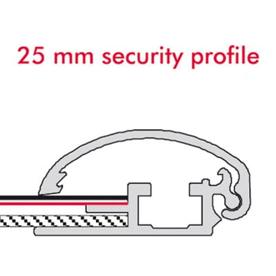 Snap Ramme Security 25mm A2