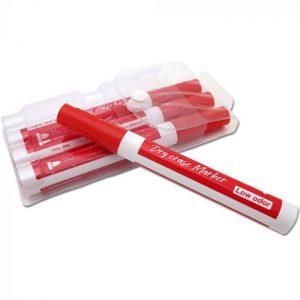 Whiteboard tuscher rød