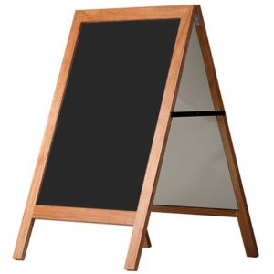 Cafeskilte magnetskilt 47x68 cm