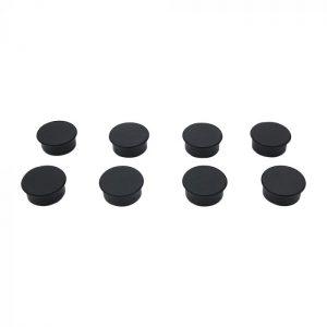Magneter 8 stk. sorte for ståltavler
